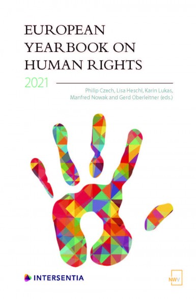 Forthcoming book: European Yearbook on Human Rights 2021